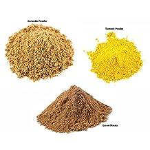 Jalpur Millers Spice Combo Pack - Garam Masala Powder 100g - Turmeric Powder 100g - Coriander Powder 100g (3 Pack)