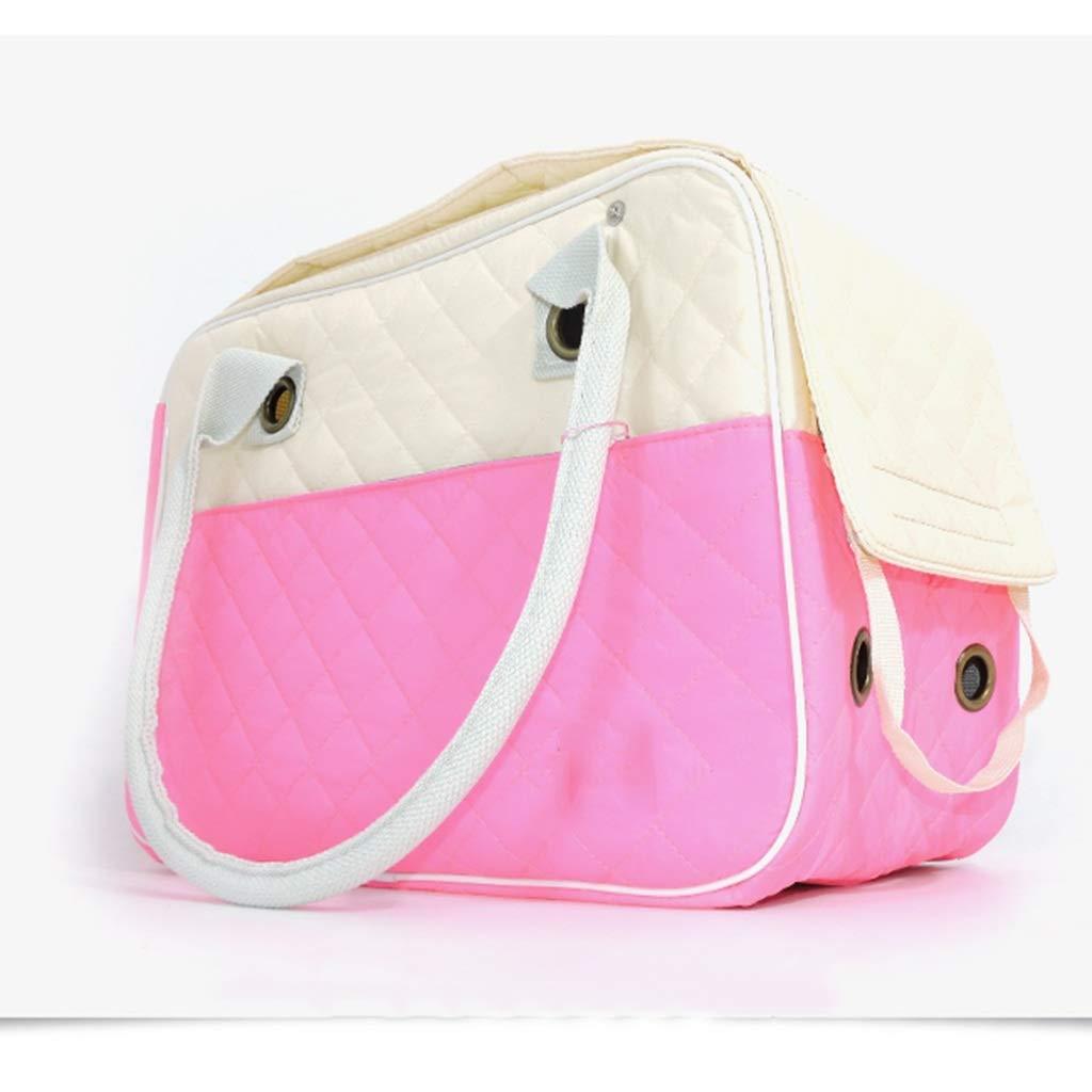 b2f2fb8341f6 Pink S S Pet Travel Carrier Dog Cat Puppy Lightweight Luxury ...