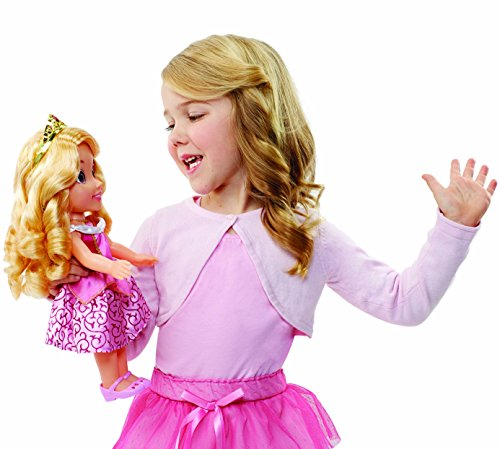 - Disney Princess Aurora Doll Sing & Shimmer, Sing with Aurora!
