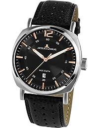 Jacques Lemans Lugano 1-1943A Mens Wristwatch Classic & Simple