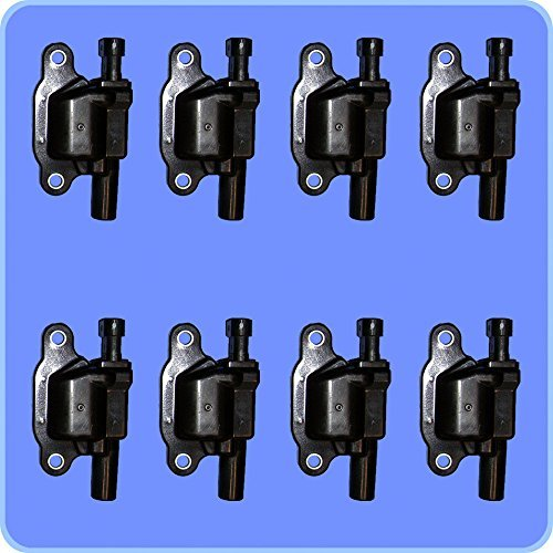 New OEM Ignition Coil Set (8) For For LS2 LS4 LS7 LS9 engines ACDELCO D513A D510C