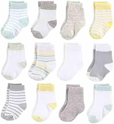 Hudson Baby Unisex Baby Essential Socks