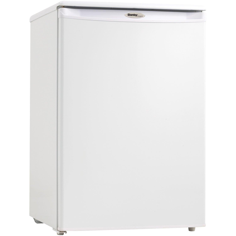 Danby DUFM043A1WDD 4.3 Cubic Feet Upright Freezer, White by Danby (Image #1)
