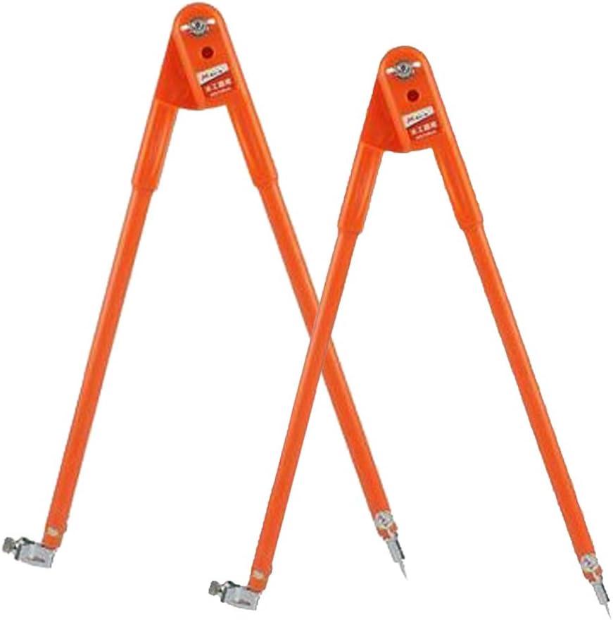 Orange 2tlg Tafelzirkel Tafelzeichenger/äte Zirkel Maker Abrei/ßer L S