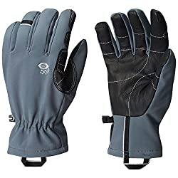 Mountain Hardwear Men's Torsion Insulated Glove, Graphite, Medium