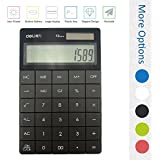 DL 1209 dual power 8 digit calculator (1589 black)
