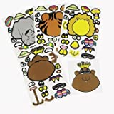 12 Make Your Own Animal Sticker Sheets