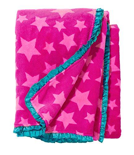 (3C4G 29125 Pink Stars Throw)