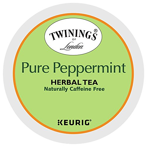 Twinings Pure Peppermint Tea Keurig K-Cups, 96 Count