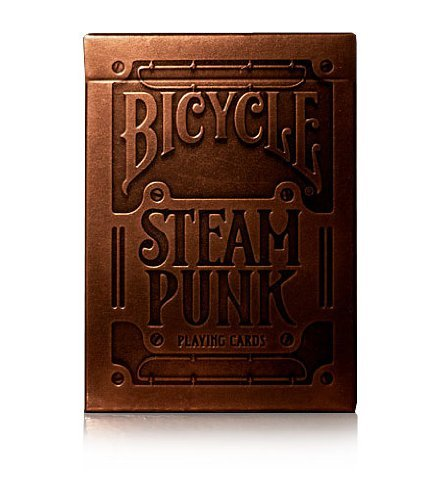 BICYCLE STEAMPUNK PLAYING CARDS 3 DECK SET BY USPCC & THEORY11 4