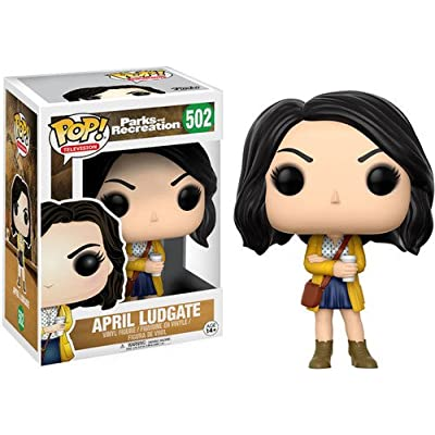 FunKo 13395 Pop Television: Parks and Recreation - April Ludgate: Funko Pop! Television:: Toys & Games