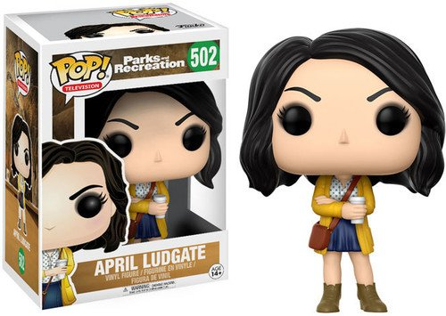 FunKo 13395 Pop Television: Parks and Recreation - April Ludgate from Funko