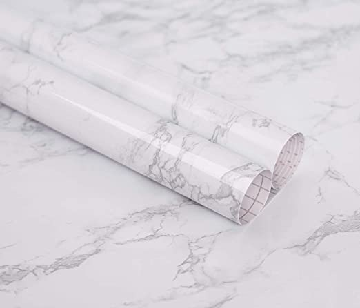 COOL Granite Marble Effect Contact Wall Self Adhesive Sticker Paper Roll Home US