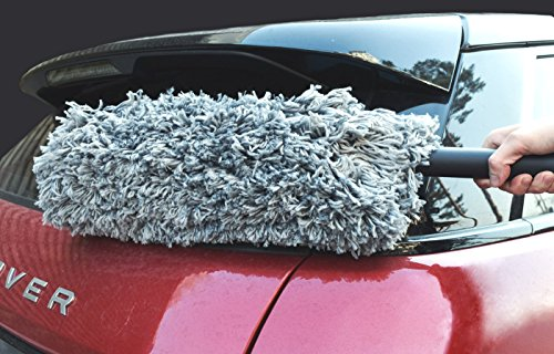 Microfiber Car Duster 24 Inch For Car Exterior Interior Import It All
