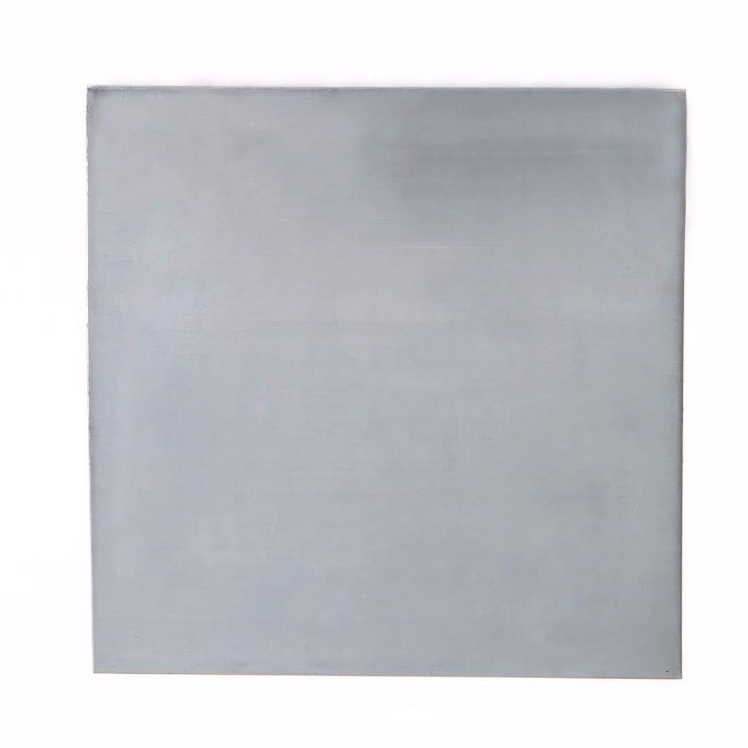 FTDDFJAS 5pcs 99.9/% Placa de l/ámina de zinc puro 140x140x0.2mm Gran pureza para laboratorio de ciencias conjunto de herramientas