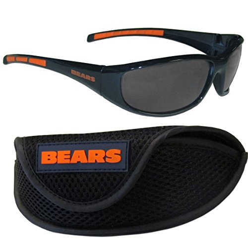 NFL Chicago Bears Wrap Sunglasses & Sport Case, - Sunglasses In Chicago