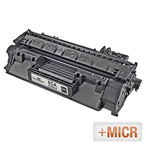 Speedy Inks - MICR Toner Remanufactured Replacement for HP 05A CE505A Black Laser Toner Cartridge for LaserJet P2035, P2035n, P2055dn, P2055X, (Hp 05a Cartridge)