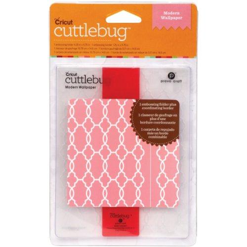 Cuttlebug Embossing Borders (Cricut Cuttlebug A2 Embossing Folder, Modern Wallpaper)