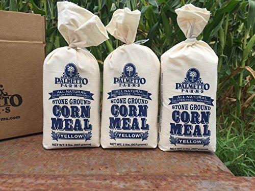 Palmetto Farms Yellow Corn Meal Flour 3 Pack