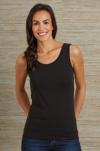 Fair Indigo Fair Trade Organic Reversible Neck Tank