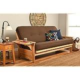 Kodiak Furniture KFPHNTLCOCLF5MD3 Phoenix Futon, Linen Cocoa