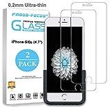 iPhone 6 / iPhone 6S Glass Screen Protector, Premium Tempered Glass Screen Protector
