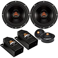 Cadence XS65K 500W 6.5 2-Way Xenith Series Component Car Speakers