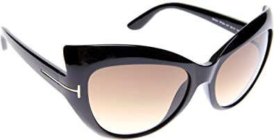 a0ff07976c26 Image Unavailable. Image not available for. Color  Tom Ford FT0284 01F  Bardot Cateye Sunglasses