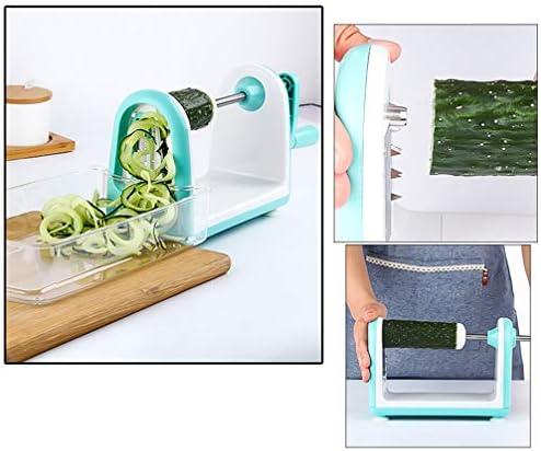 UPKOCH 野菜野菜スパゲッティスライサースパイラルカッター用野菜スパゲッティパスタサラダ