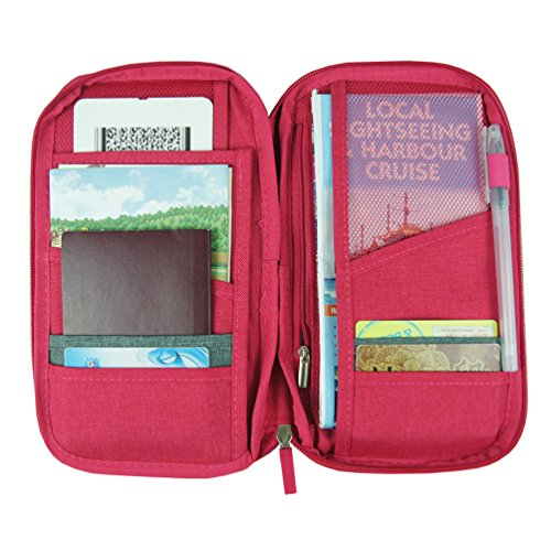 Travel Wallet Passport Holder Wallet with