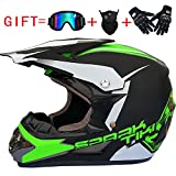 Green Motorcycle & Powersports Protective Gear