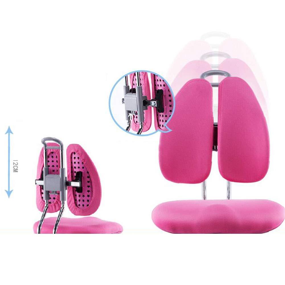JIEER-C Fritidsstolar lyftbord studentsäte hem arbetsrum skrivbord stol barns lärande stol 2 färger hållbar stark Rosa