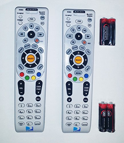 DIRECTV RC66RX RF Universal Remote Controls with Batteries, Set of (Josephs Foot Brush)