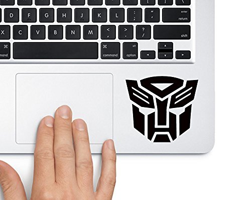 Autobot Logo Transformers - Trackpad Apple Macbook Laptop Vinyl Sticker Decal