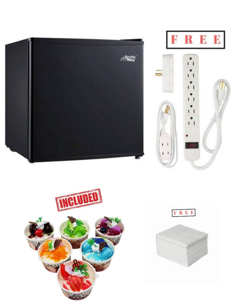 Arctic King Freezer 5.0 cu ft, White with Free