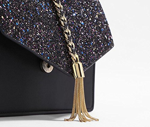 Tassel Neiyi Shoulder Tx Bag Messenger Chain Simple Joker Ornaments Envelope Mini Summer Sequins Girls Metal Trend Bags Z7nr7dz
