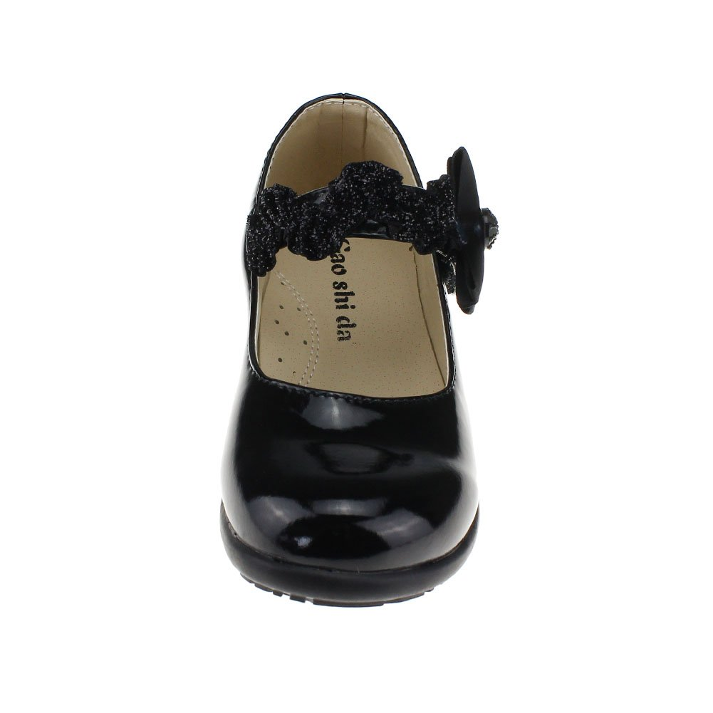 Maxu Bowtie Fashion Patent Leather Performance Shoes