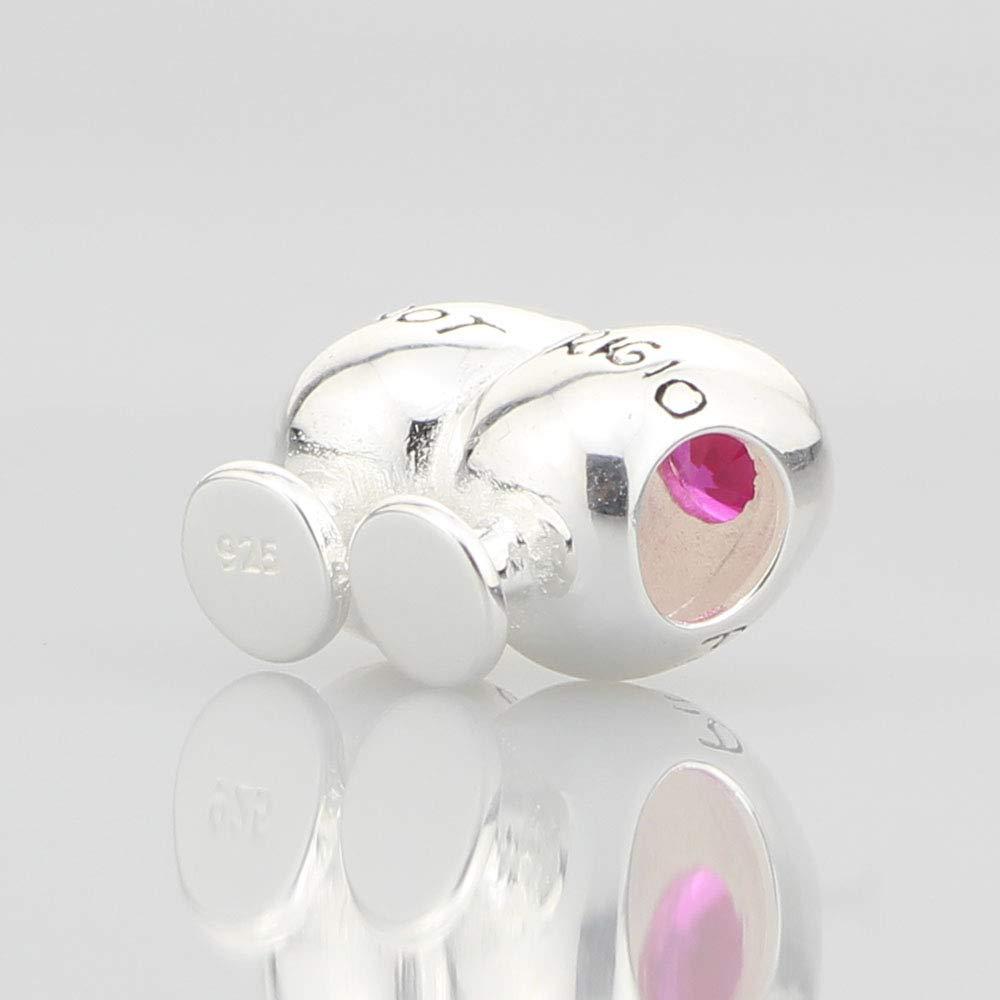 not Stirred Cocktail Charm for European Bracelet Beads Hunter 925 Sterling Silver Shaken