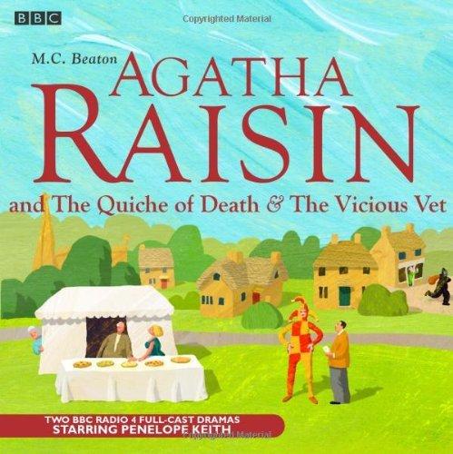 Agatha Raisin: The Quiche of Death & the Vicious Vet by M.c. Beaton (November 05,2007)