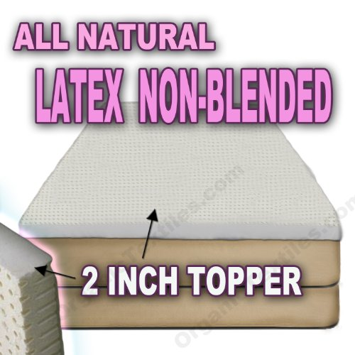 Natural Latex Blended Mattress Topper product image