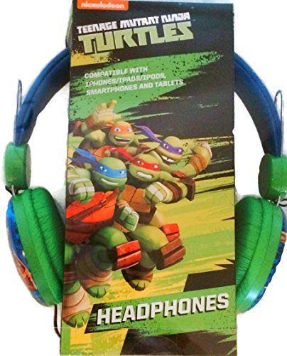 Nickelodeon Teenage Mutant Ninja Turtles Headphones