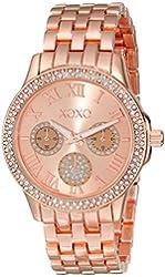 XOXO Women's XO181 Analog Display Analog Quartz Rose Gold Watch