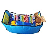 Childrens Travel Tray,AYAOQIANG Waterproof Snack, Play & Learn Tray for Cars- Bus- Train