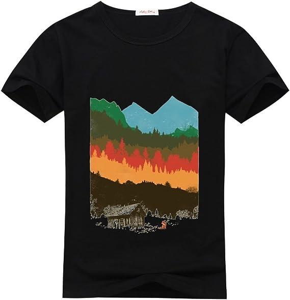 Kazuma moda personalizada Classic de la temporada de caza hombres camiseta XL negro: Amazon.es: Ropa y accesorios