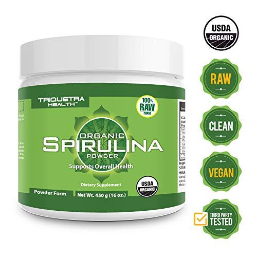 Organic Spirulina Powder Certifications Non Irraditated product image
