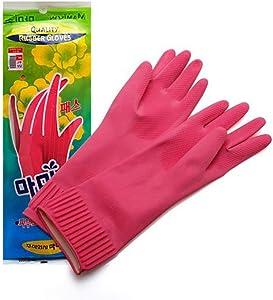 Mamison Quality Kitchen Rubber Gloves (1, M)