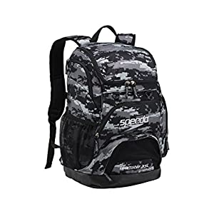 Speedo Large Teamster Backpack, Digi Camo Grey, 35-Liter