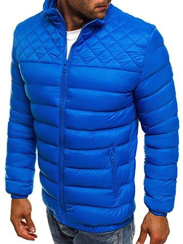 Acolchada 514K Acolchada Hombre J Abrigo Invierno Chaqueta 515 10 de Chaqueta Chaqueta Azul js Style de Chaqueta Mix Térmica ku Chaqueta OZONEE gYaOqxSn5