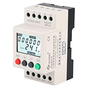3 Phase Voltage Monitoring Sequence Relay JVR800-2 Voltage Protection Relay Under Over Voltage Protector