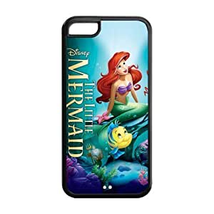 Cyber Monday Store Customize Beautiful Cartoon The Little Mermaid Back Case for iphone 4/4s iphone 4/4s JNipad iphone 4/4s-1656